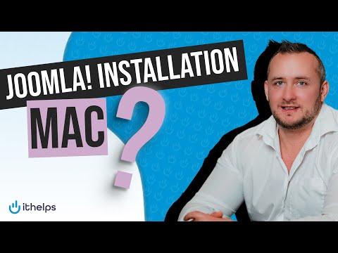 Joomla Installation auf Mac / Computer