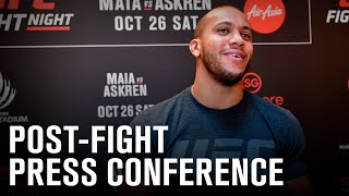 UFC Vegas 20: Post-fight Press Conference by UFC