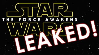 Star Wars Force Awakens First 2 Minutes Leaked!