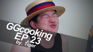 GGcooking Ep.23 - โอโคโนมิยากึ่งโซบะ [by Tiger Uncage Food]