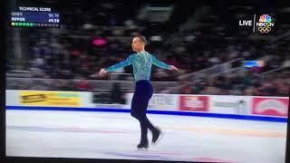 2018 U.S. Men's Figure Skating ADAM RIPPON - AMAZING   Kholo.pk