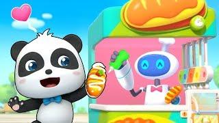 Yummy Bread Vending Machine | Colors Song, Ice Cream, Food Song | Kids Songs | Kids Cartoon |BabyBus
