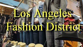 Los Angeles Fashion District, California