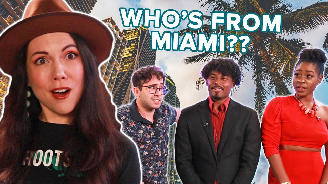 Miamian Guesses Who's Actually From Miami thumbnail