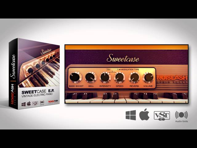 FREE VST AU PLUGIN: Sweetcase Vintage Electric Piano VST AU Plugin (Win/Mac) Demo