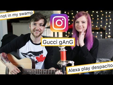We wrote a song using only your instagram comments! ft. RobertIDK