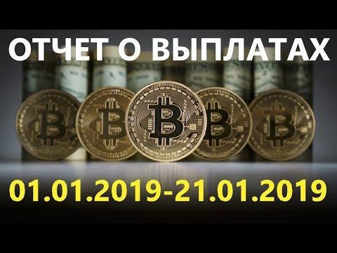 Отчет по выплатам с Airdrop 01.01.2019-21.01.2019