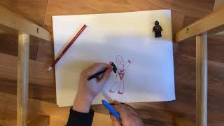 Miles Morales Drawing Tutorial