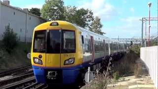 preview picture of video 'Harrow and Wealdstone turn back siding'