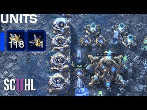 HAS WITH 118 PROBES?! - Starcraft 2: Nation Wars 2019