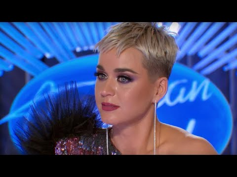 Watch Katy Perry Cry During Emotional 'American Idol' Audition