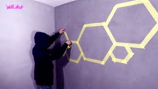 Cool Design For Your Room. Wall Painting. How To Make Your Room The Best!