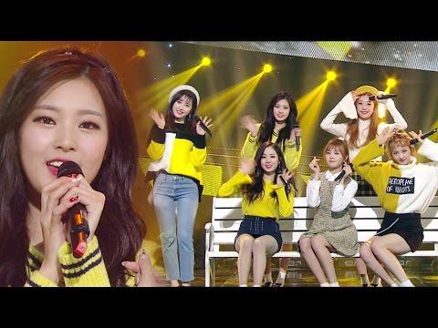 《Comeback Special》 SONAMOO (소나무) - Talk About U @인기가요 Inkigayo 20170115