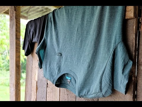 Review: How Good Is The ICEBREAKER Merino Cool-Lite T-Shirt?   In Papua New Guinea