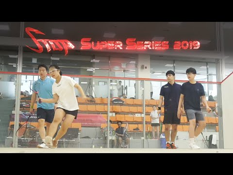 [매치업스쿼시] 이소진-송일환 vs 정태경-박문수(용) S-Top Super Series 2019