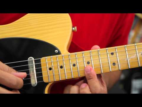 Soukous Guitar - Three Lines I-IV-V-IV in D