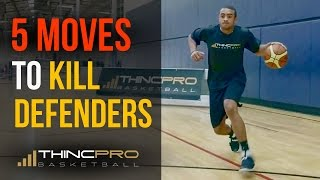 Top 5 – DEADLY Basketball Moves to KILL Your Defender and Score More Points!