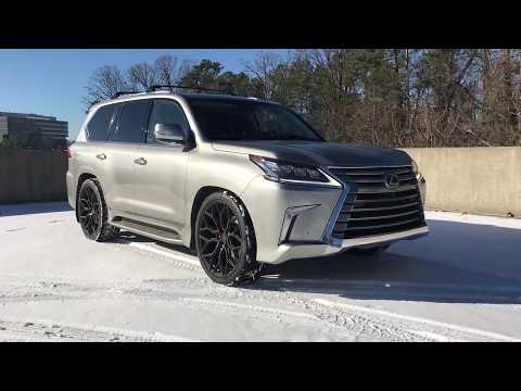 """2017 Lexus LX 570 x 24"""" Vossen Forged S17-01 Wheels"""