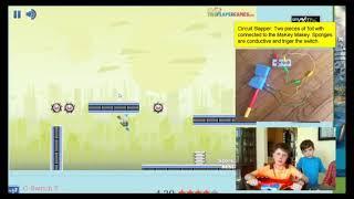Circuit Slapper: A game for motor learning