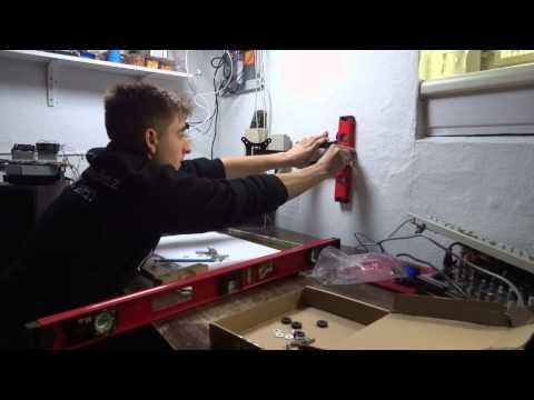 Monitor/TV Wandhalter  an die Wand bringen Tutorial [HD50p]