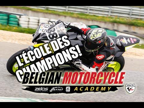 Présentation de la nouvelle Belgian Motorcycle Academy: l'école des champions!
