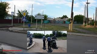 """Как сотрудники полиции в Казахстане в Кушмуруне """"помогли"""" сбитому скутеристу."""