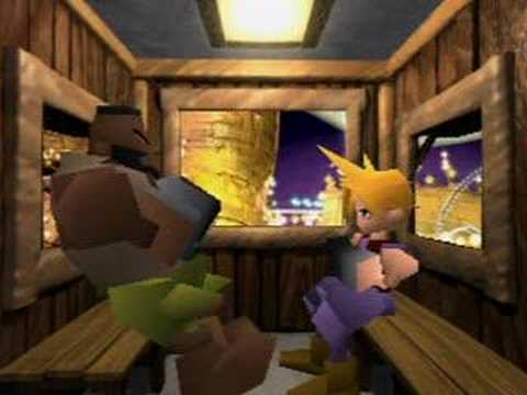 Great Moments In Gaming Humour: A Romantic Evening With Barret Wallace