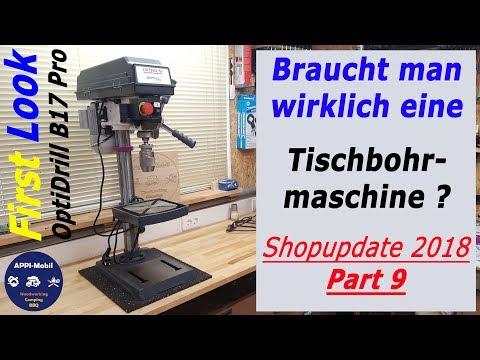 Braucht man wirklich eine Tischbohrmaschine? / First Look OptiDrill B17Pro von Optimum