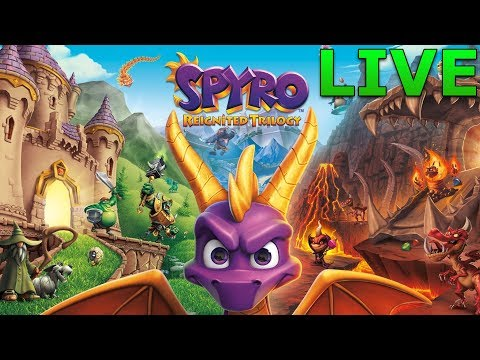 Into the Dragon   Spyro Reignited Trilogy   LIVE   Part 1