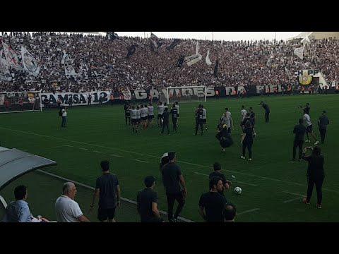 VÍDEO: Meu Timão mostra festa da Fiel na Arena Corinthians antes de semi da Copa BR