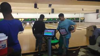 Bowling practice on the Don Johnson pattern 38 feet 3/23/19