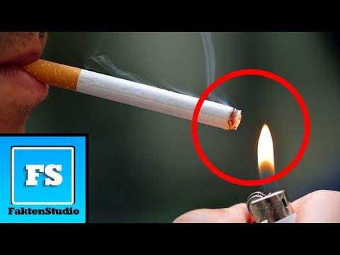 Tabeks mit den Zigaretten