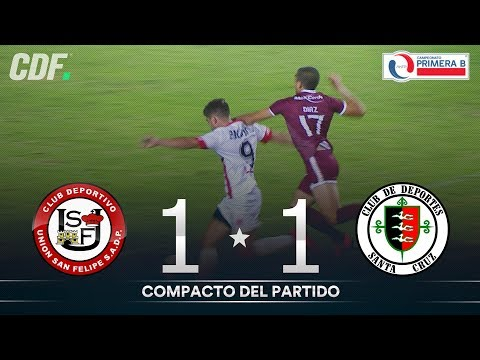 Сан-Фелипе - Club Deportes Santa Cruz 1:1. Видеообзор матча 18.03.2020. Видео голов и опасных моментов игры