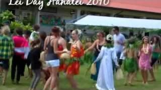 Hanalei, Kauai Lei Day 2010.mp4