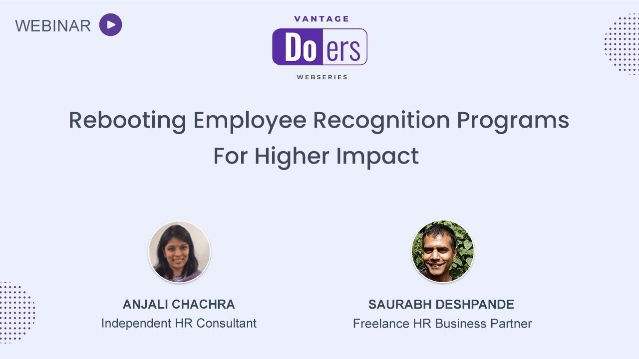 [On-demand Recording] Rebooting Employee Recognition Programs For Higher Impact