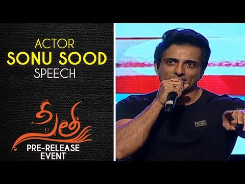 Actor Sonu Sood Speech At Sita Movie Pre Release Event