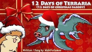 12 Days of Terraria | Terraria Song Parody (12 Days of Christmas)