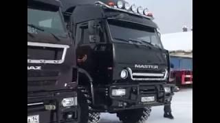 Якутские Камазы / Yakut Kamaz / Truck driver