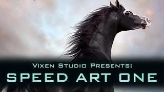 HEE Horse Manipulation Speed Art 1