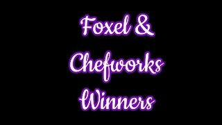 Foxel and Chefworx Winners
