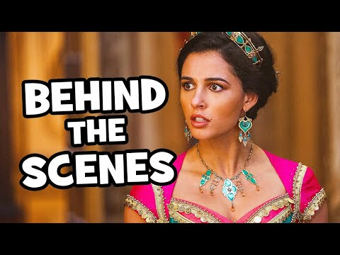 Behind The Scenes on ALADDIN - Songs, Clips & Bloopers
