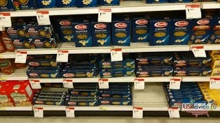 США. Супермаркет, цены на основные продукты (молоко, курица, яйца, хлеб...)