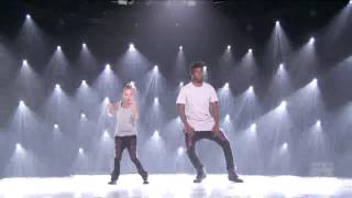 Cyrus and little phoenix performed on so you think you can dance season 12
