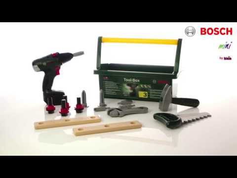 THEO KLEIN - BOSCH Werkzeug-Box mit Akkuschrauber II (#8520)