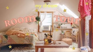 ☁️ DREAM ROOM TOUR ☁️ *extreme Attic Room Makeover*