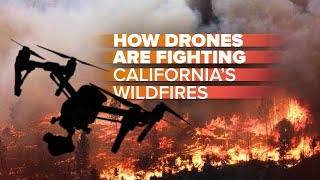 "(Video) ""Drones Help Battling California Wildfires"""
