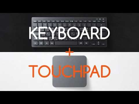 Mokibo: 2-in-1 Touchpad Fusion Keyboard-GadgetAny