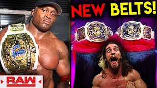New WWE Title Belts! New Champion! (WWE Raw Jan. 14, 2019 Review & Results!)
