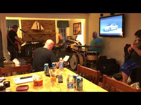 Pete Frank Band's first practice...