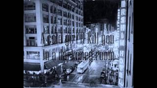 The Doors -  Cars Hiss By My Window  (Lyrics)